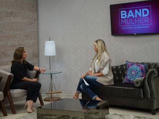 Entrevista para o programa Band Mulher