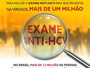 Teste anti-HCV é fundamental para diagnóstico precoce da hepatite C