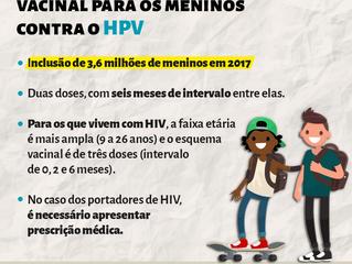 Vacina contra o HPV para os meninos