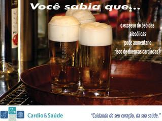 Evite o excesso de bebidas alcoólicas