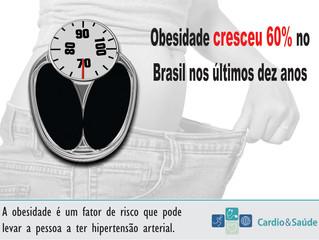 Obesidade é fator de risco para hipertensão arterial