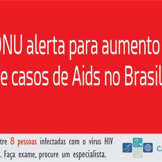 Casos de Aids aumentam 3% no Brasil