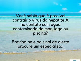 Proteja-se contra a hepatite A durante o verão!