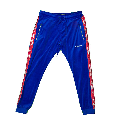 MIMIEUX ROYAL BLUE SWEATPANTS