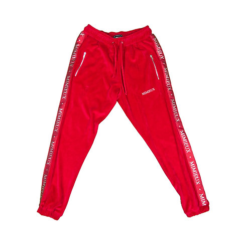 MIMIEUX RED SWEATPANTS
