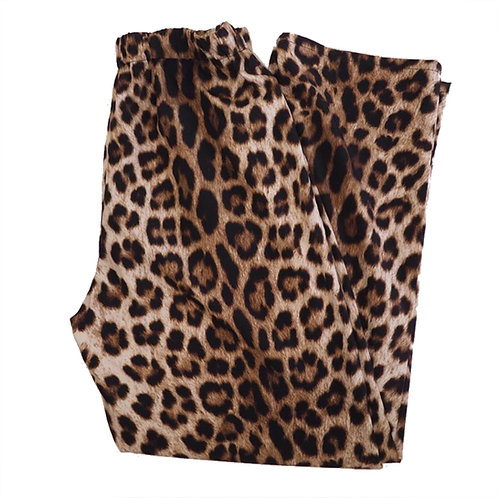 LEOPARD PAJAMAS PANTS