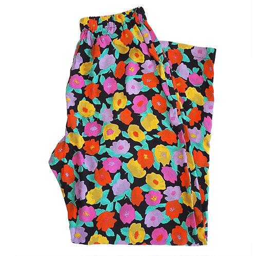 FLOWER  PAJAMAS PANTS