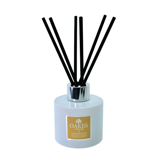 "Diffuser ""Ginger & Lemongrass"" 100ml Boxed Diffuser"