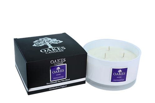 "500g ""Oudh"" Three Wick Candle"
