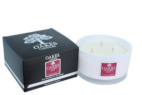 """500g """"Victorian Spice"""" Three Wick Candle"""