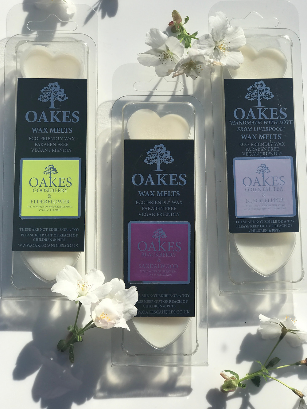 Our Luxury Wax Melts, available in 18 Fragrances