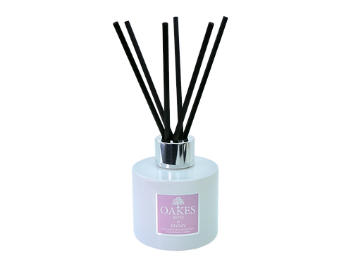 """""""Rose & Peony"""" 100ml Boxed Diffuser"""
