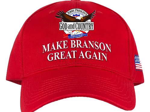 Red - Make Branson Great Again Hat