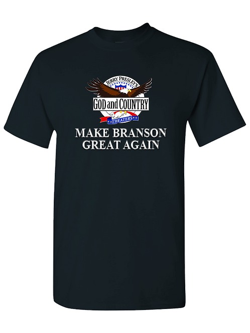 Black - Make Branson Great Again T-Shrt