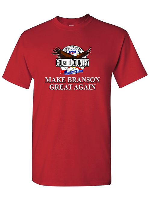 Red - Make Branson Great Again T-Shirt