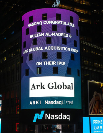 Ark Global Acquisition Corp. Nasdaq