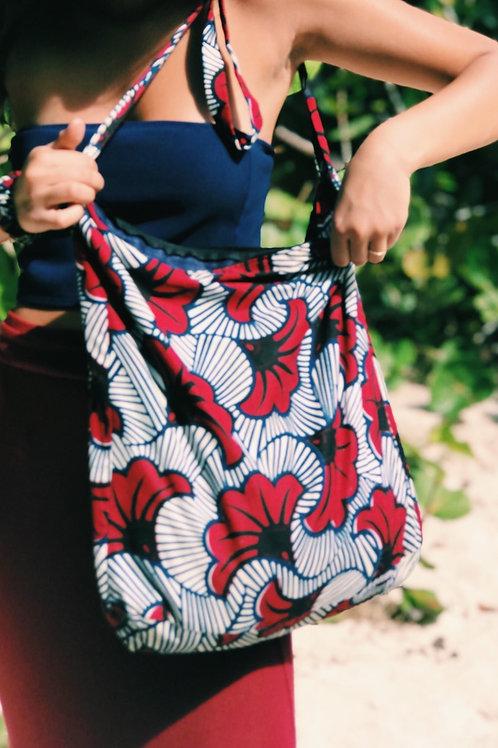 Hope Sews ethical fashion floral print tote bag