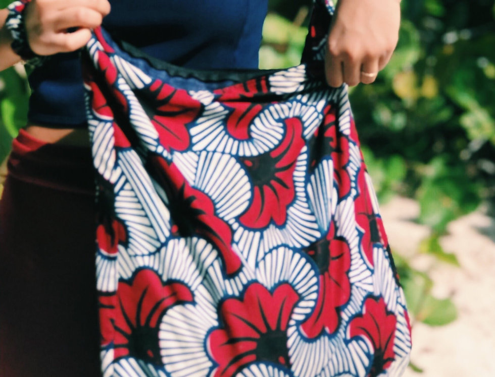 Hope Sews ethical fashion floral print tote bag