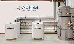 Ecopowers in test area Axiom logo.jpg