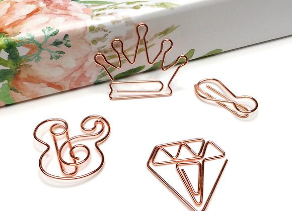 Queen Life Paper Clip Set