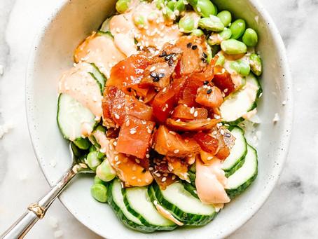 Healthy Spicy Tuna Bowl