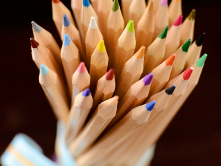 Who Doesn't Love a Bouquet of Freshly Sharpened Pencils?