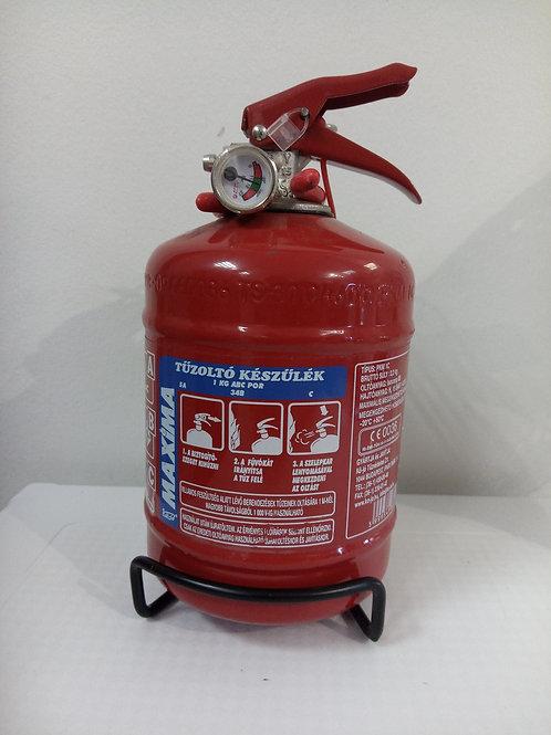 Maxima PKM 1C 1 kg porral oltó tűzoltó készülék
