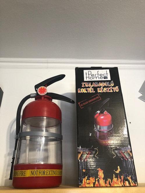 Tűzoltó készülék alakú italadagoló