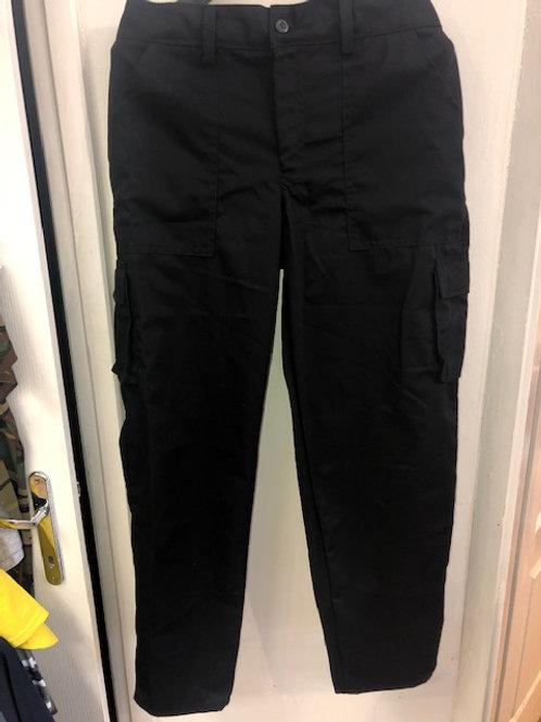 Önkéntes tűzoltó gyakorló nadrág ,fekete