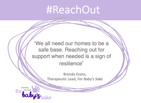 #ReachOut For Baby's Sake's guidance on reducing the risk of trauma and building resilience