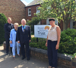 Visiting the Road Victims Trust