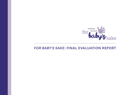 Academic evaluation says 'unique' For Baby's Sake 'fills an important gap in provision'