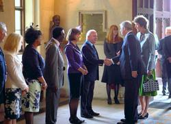 Stelio meets Duke of York