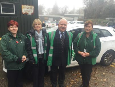 Visit with Hertfordshire Independent Living Service