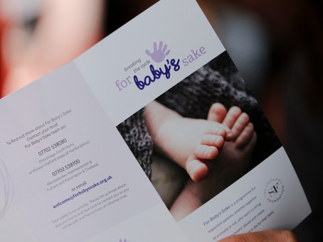 Launch of For Baby's Sake Cambridgeshire