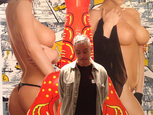 Visit to Jeff Koons in Whitney Museum, NY