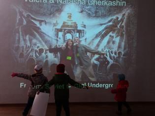 "Talk ""From Soviet to Global Underground"" at Kashirka Gallery"