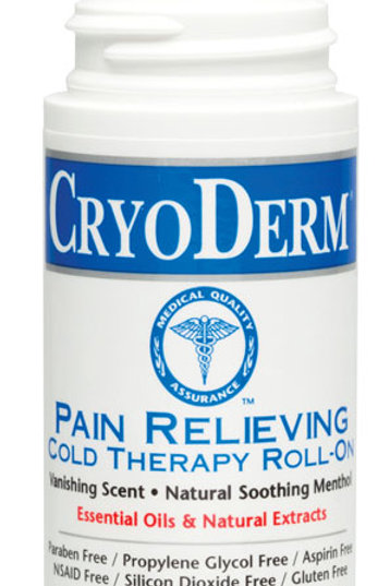 Cryoderm Roll-on 3 oz.