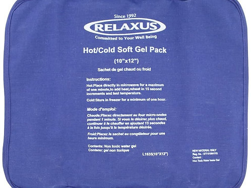 "Relaxus Hot/Cold Soft Gel Pack 10"" x 12"""