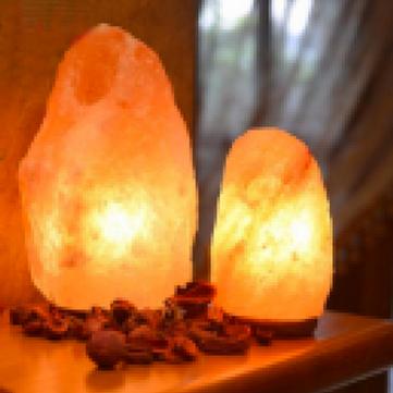 Amber Himalayan Salt Lamps