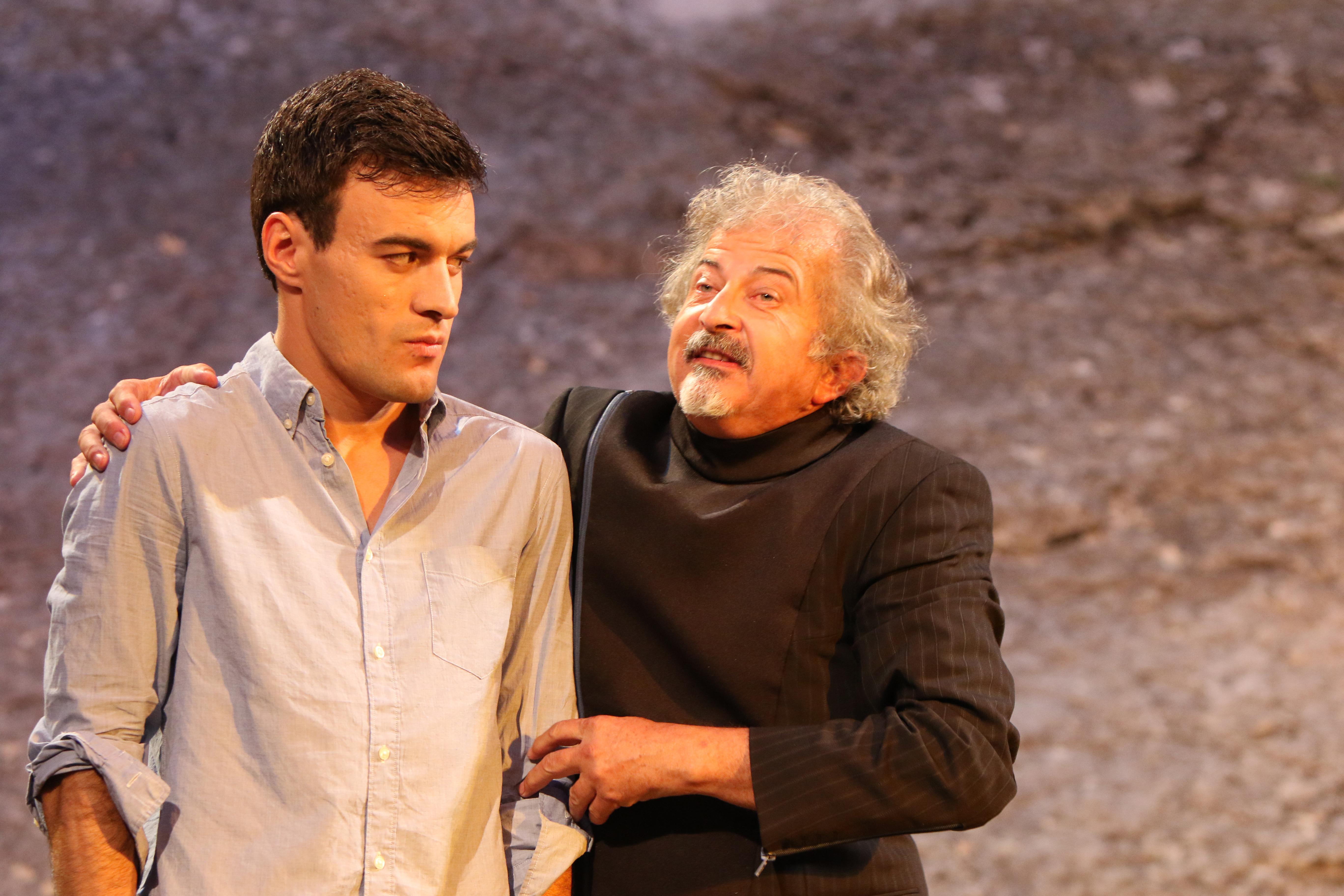 Romeo beim Pater Lorenzo
