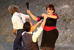 Benvolio, Mercutio, Amme