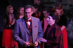 Lord + Lady Capulet