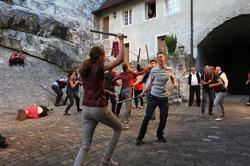 Kampf Capulets - Montagues