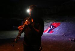 Saxophon: Fabian Capaldi