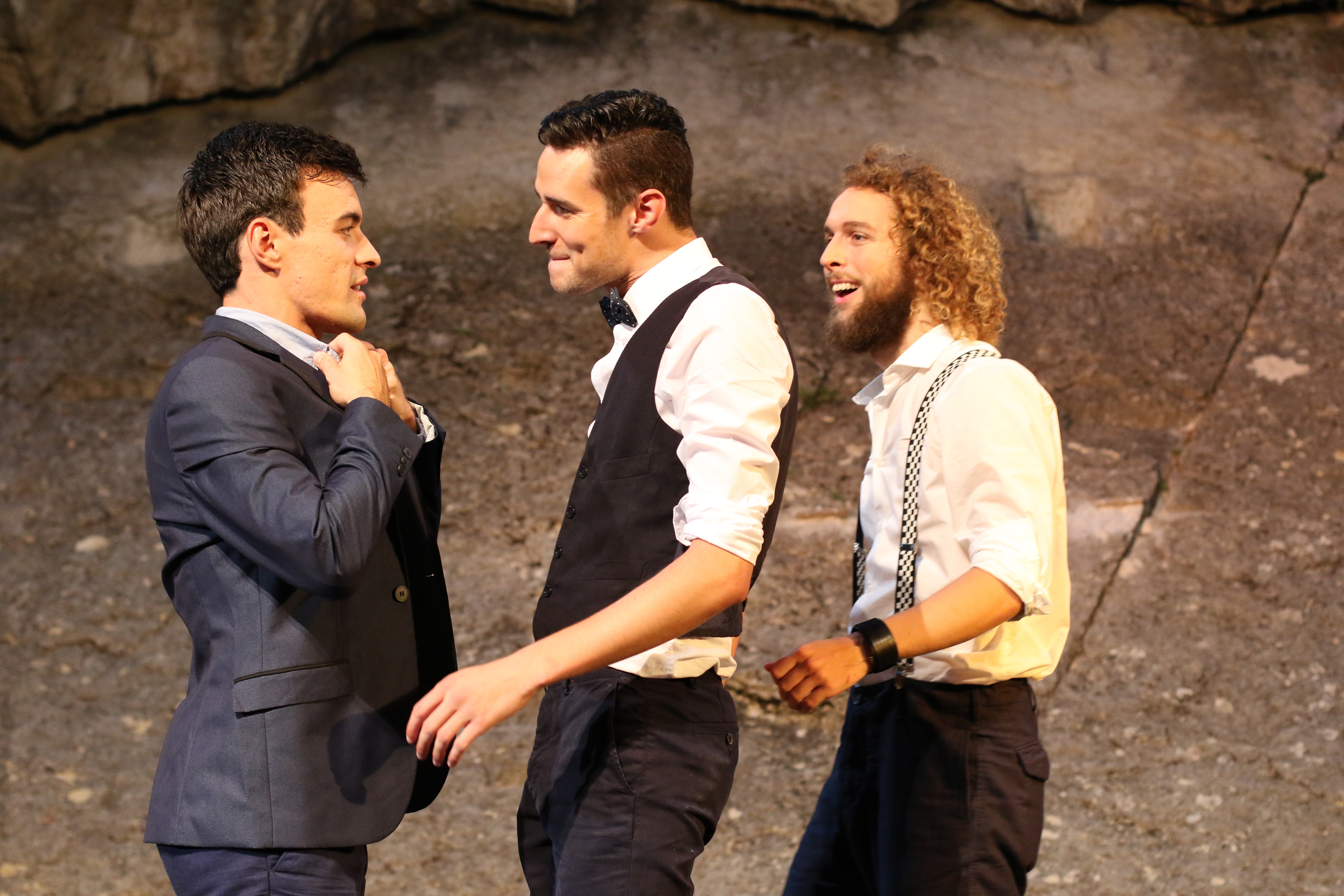 Romeo, Mercutio, Benvolio