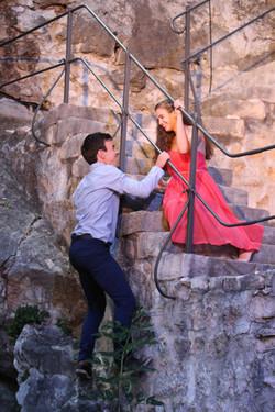 Balkonszene Romeo und Julia