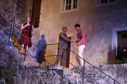 Lord + Lady Capulet mit Paris