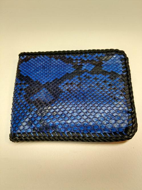 Blue Python Billfold