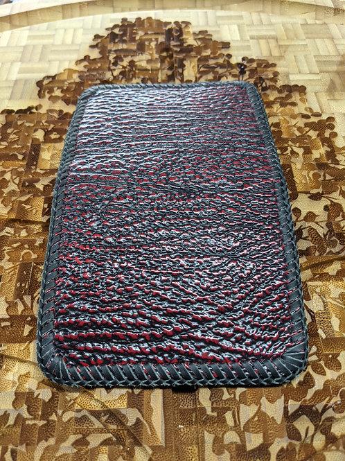 6 pocket red shark wallet